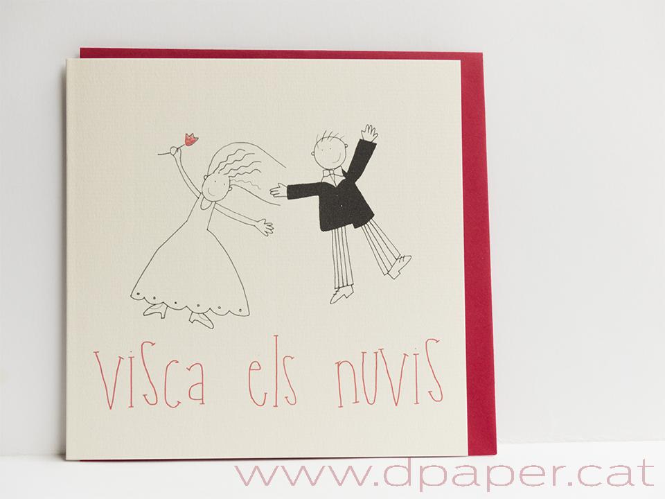 felicitació casament